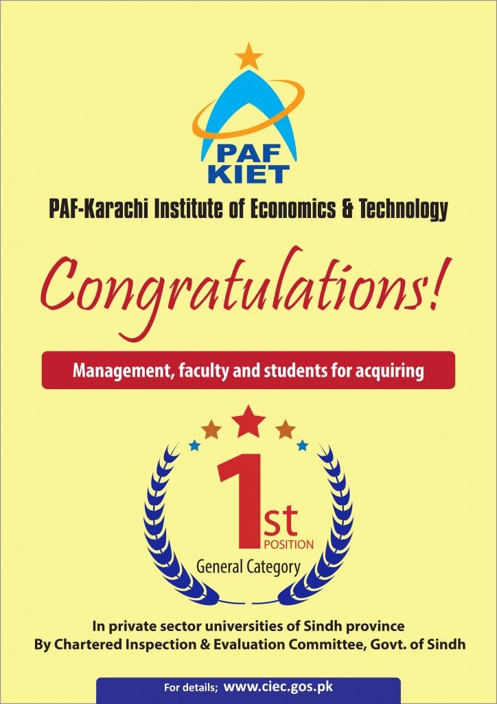 A3 Congratulation